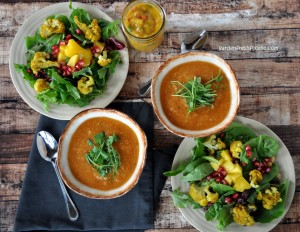 red lentil curry soup