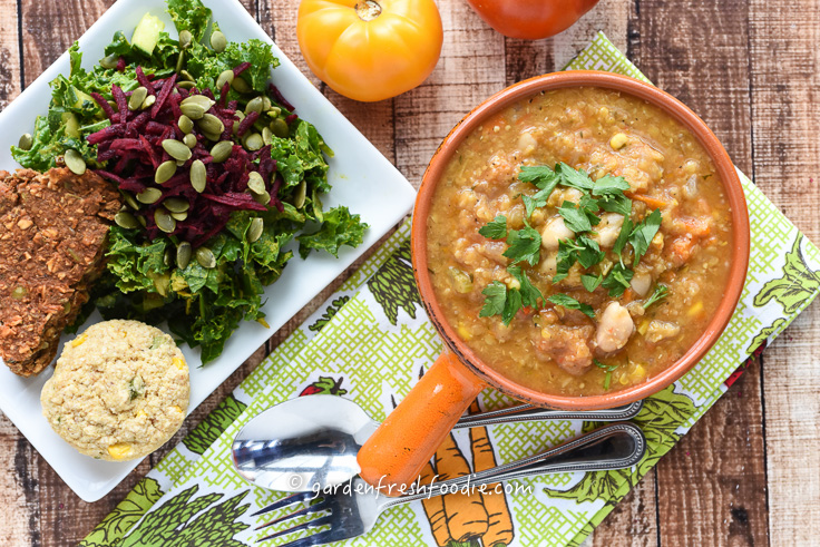 Italian Curry Red Lentil Soup With Cannellini Beans