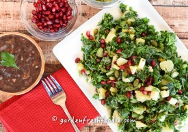 Winter Massaged Kale Salad