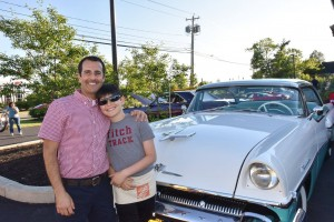Dr. Altman and cruise night in Williamsville NY to benefit Heart Works