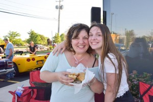 nikki at cruise night at Altman Dental in Williamsville NY to benefit Heart Works